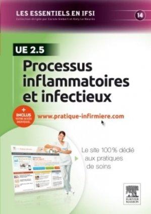 Processus inflammatoires et infectieux - elsevier / masson - 9782294741104