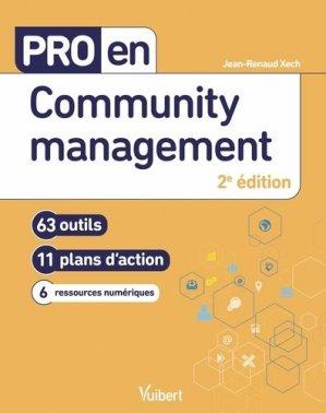 Pro en community management. 63 outils et 11 plans d'action - Vuibert - 9782311623925 -
