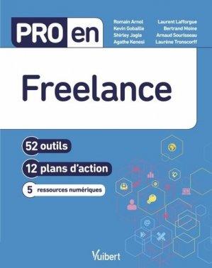 Pro en Freelance. 52 outils et 12 plans d'action - Vuibert - 9782311624403 -