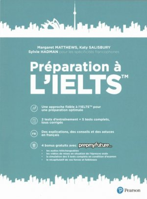 Préparation à l'IELTS - pearson - 9782326002319 -