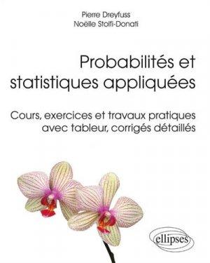 Probabilités et statistiques appliquées - ellipses - 9782340003620 -