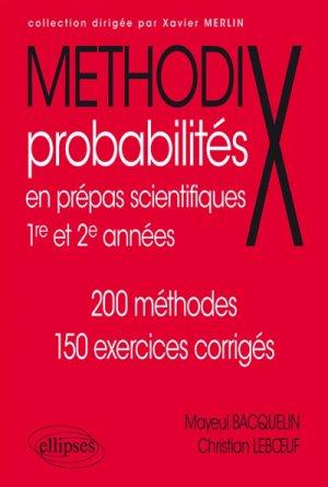 Probabilités - ellipses - 9782340011489 -