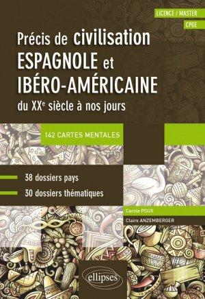 Précis de civilisation espagnole et ibéro-américaine - ellipses - 9782340026476 -