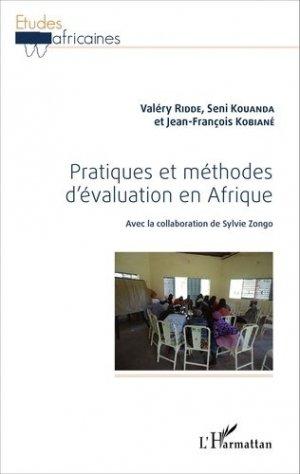 Pratiques et méthodes d'évaluation en Afrique - l'harmattan - 9782343073712 -