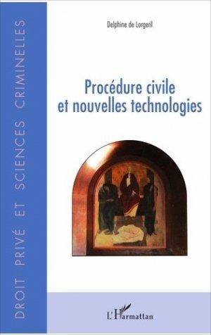 Procédure civile et nouvelles technologies - l'harmattan - 9782343126944 -