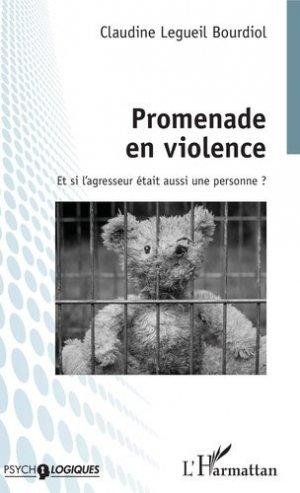 Promenade en violence - l'harmattan - 9782343181677 -