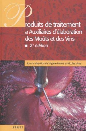 Produits de traitement et auxiliaires d'élaboration des moûts et des vins - feret - 9782351561591 -