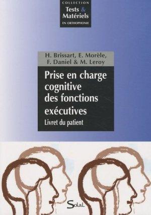 Prise en charge cognitive des fonctions exécutives - solal - 9782353270873 -