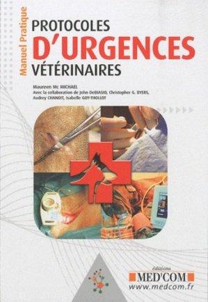Protocoles d'urgences vétérinaires - med'com - 9782354030698 -