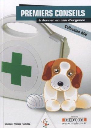 Premiers conseils à donner en cas d'urgence - med'com - 9782354031923 -