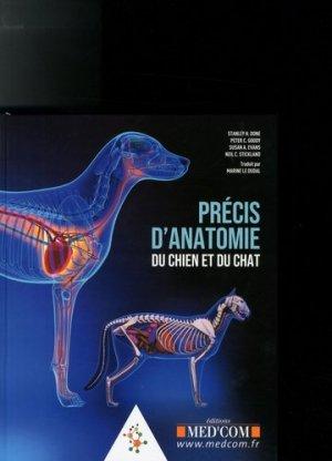 Précis d'anatomie du chien et du chat - med'com - 9782354032623 -