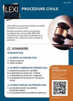 Procédure civile - enrick b - 9782356443328 -