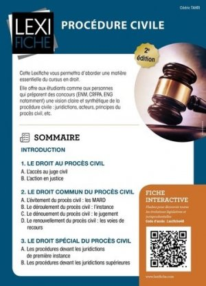 Procédure civile - enrick b - 9782356444400 -