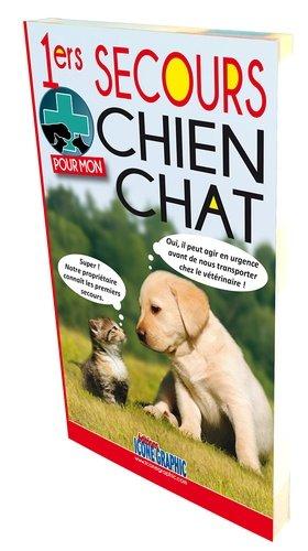 Premiers secours pour mon chien - chat - icone graphic - 9782357383210 -