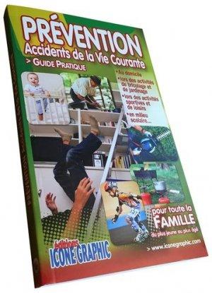 Prévention des accidents de la vie courante - icone graphic - 9782357383470 -