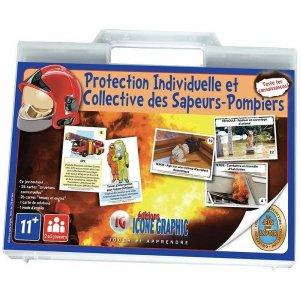 Protection individuelle et collective des sapeurs-pompiers - icone graphic - 9782357384194 -