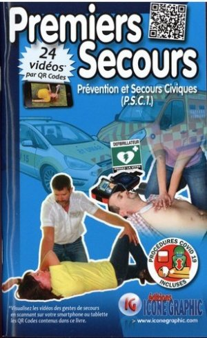 Premiers secours - Icone graphic - 9782357386556 -