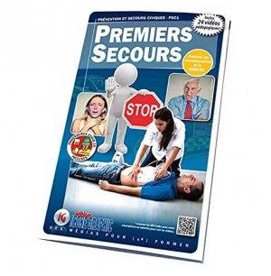 Premiers Secours - Prévention et Secours Civiques PSC1 - icone graphic - 9782357386693 -
