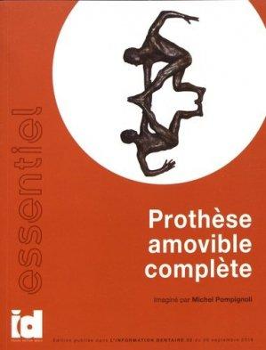 Prothèse amovible complète - espace id - 9782361340599 -