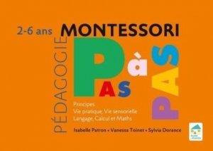 Principes, vie pratique, vie sensorielle, langage, calcul et maths 2-6 ans - Ecole vivante - 9782366380347 -
