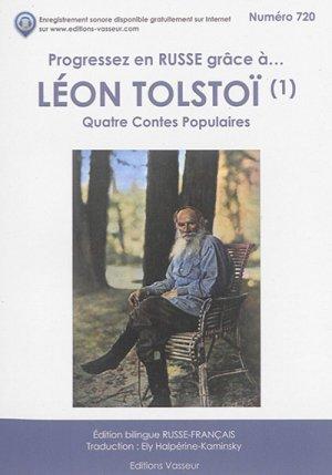 Progressez en russe grâce à Léon Tolstoï - vasseur - 9782368300534 -
