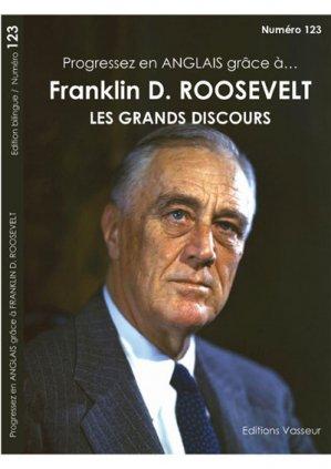 Progressez en anglais grâce à Franklin Roosevelt - vasseur - 9782368300831 -