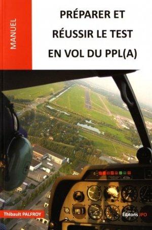 Préparer et réussir le test en vol du PPL - jpo - jean-pierre otelli editions - 9782373010343 -
