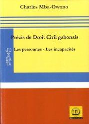 Précis de Droit Civil gabonais - Dianoïa - 9782373690606 -