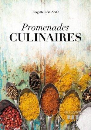 Promenades culinaires - Les 3 Colonnes - 9782374806396 -