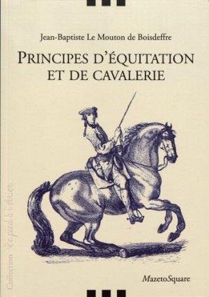 Principes d'équitation et de cavalerie - mazeto square - 9782380280074 -