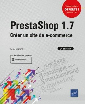 Prestashop 1.7 - Editions ENI - 9782409023101 -