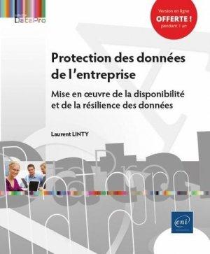 Protection des données de l'entreprise - Mise en œuvre de la disponibilité et de la résilience des d - eni - 9782409030246 -