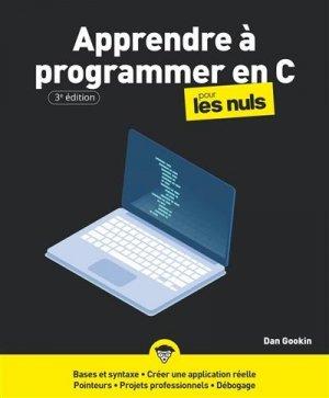Programmer en c pour les nuls 3e - first editions - 9782412066966 -
