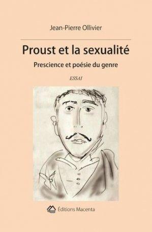 Proust et la sexualité - Macenta Editions - 9782490222049 -