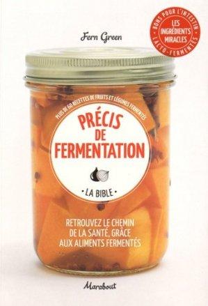 Précis de fermentation - marabout - 9782501112581 -
