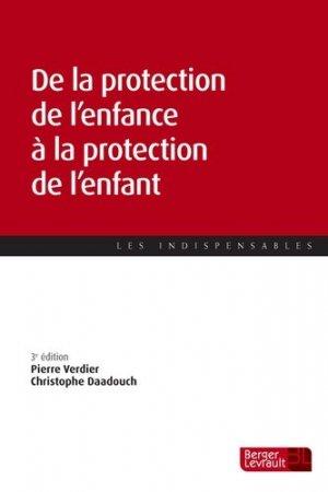 Protection de l'enfance apres la reforme de 2016 - berger levrault - 9782701319520 -