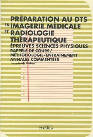 Préparation au DTS en imagerie médicale et radiologie thérapeutique - casteilla - 9782713531552 -