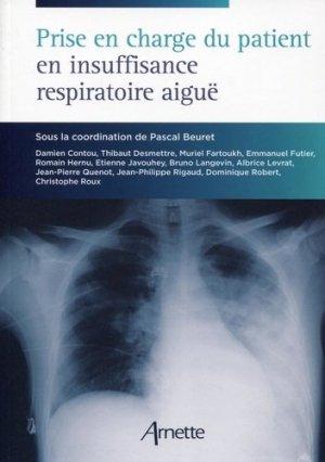 Prise en charge du patient en insuffisance respiratoire aiguë-arnette-9782718413471