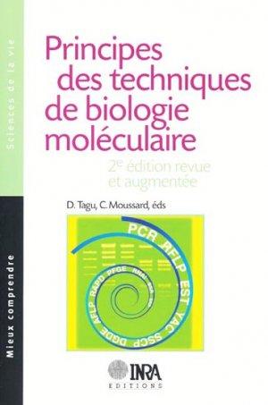 Principes des techniques de biologie moléculaire - inra  - 9782738010674 -