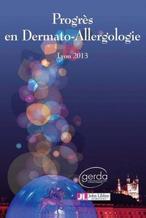 Progrès en Dermato-Allergologie - john libbey eurotext - 9782742011261 -