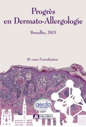 Progrès en Dermato-Allergologie 2015 - john libbey eurotext - 9782742014255 -