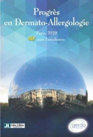 Progrès en dermato-allergologie - john libbey eurotext - 9782742015948 -