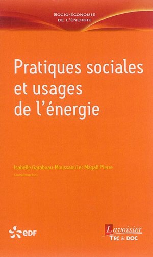 Pratiques sociales et usages de l'énergie - lavoisier / tec et doc - 9782743020217 -