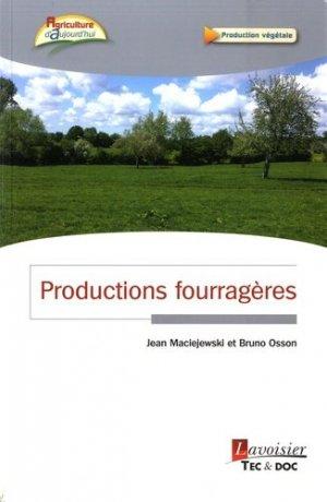 Productions fourragères - lavoisier / tec et doc - 9782743020811 -