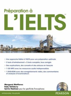 Préparation à l'IELTS - Pearson - 9782744076886 -