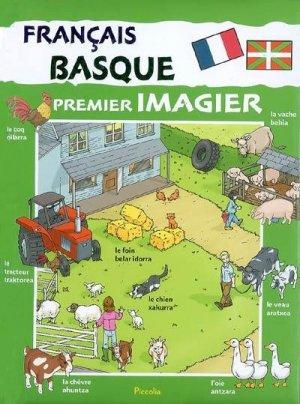 Premier imagier Français-Basque - Piccolia - 9782753002463 -