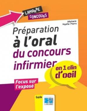 Préparation à l'oral du concours infirmier - lamarre - 9782757308295 -