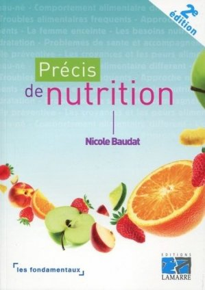 Précis de nutrition - lamarre - 9782757308424 -