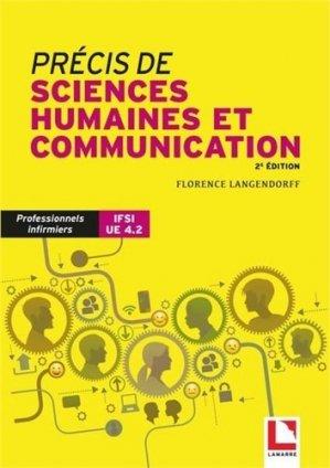 Précis de sciences humaines et de communication - lamarre - 9782757310908