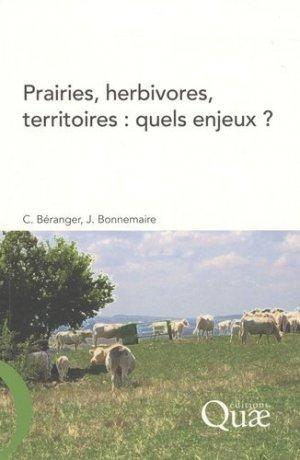 Prairies, herbivores, territoires : quels enjeux ? - quae - 9782759201174 -